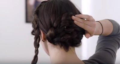 How To Video French Braid Aveda