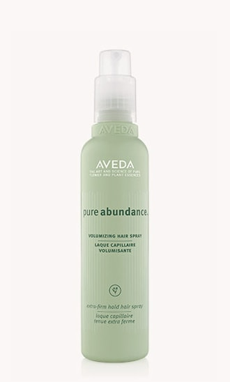 "pure abundance<span class=""trade"">™</span> volumizing hair spray"