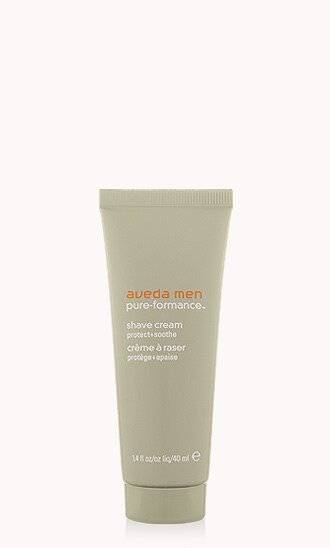 "aveda men pure-formance<span class=""trade"">™</span> shave cream"